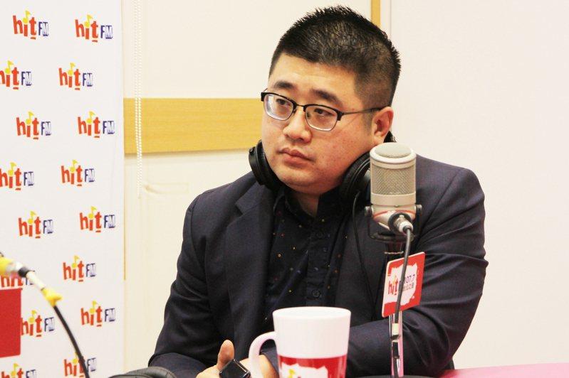 蔡英文連任競選辦公室文宣群副執行長林鶴明。圖/Hit Fm《周玉蔻嗆新聞》製作單位提供