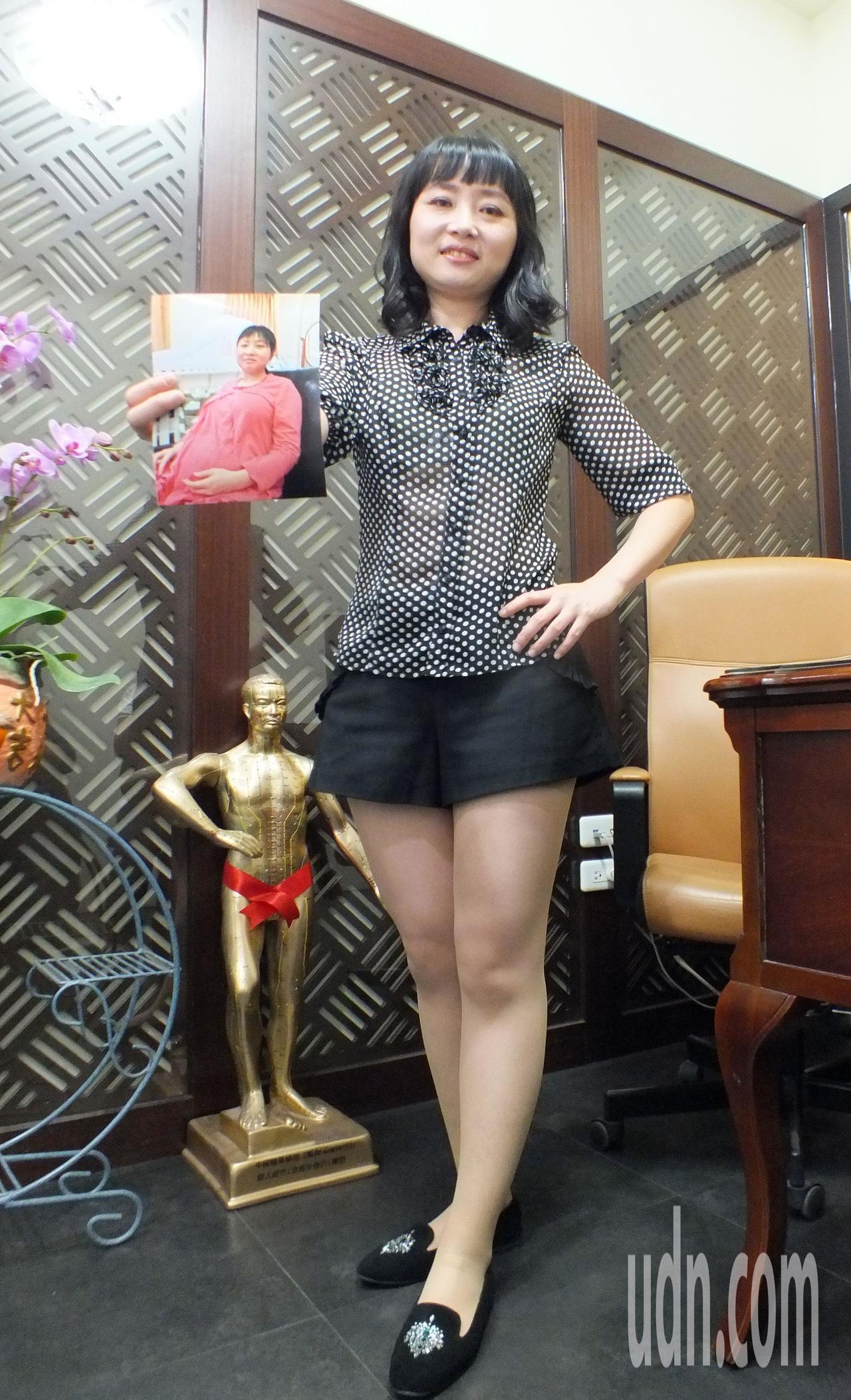40歲醫師娘吳采柔在中醫師老公林育誠協助下,搭配中醫調理,加上親餵,8個月順利回...