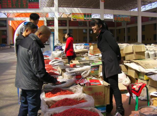 寧夏中衞市枸杞黑加工作業,已在當地成為「公開秘密」。(今日頭條)