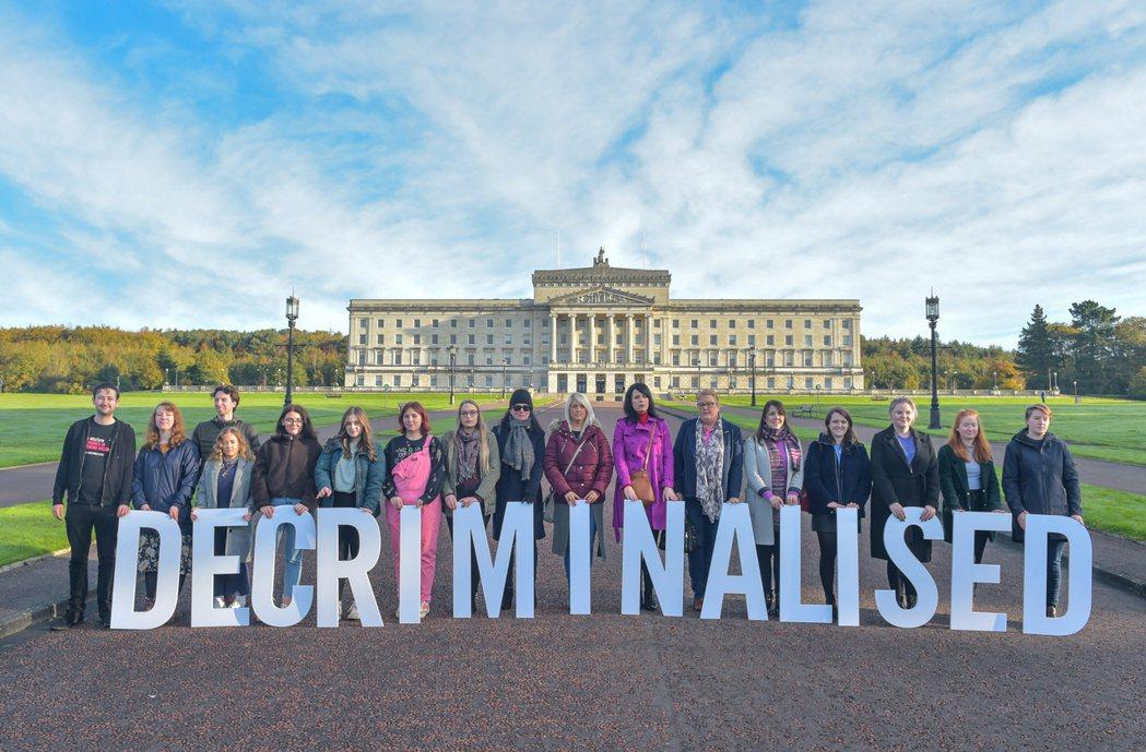 北愛爾蘭墮胎已經除罪化。路透