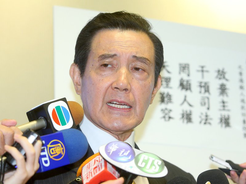 前總統馬英九今早受訪談陳同佳投案遭拒,講到哽咽。記者余承翰/攝影