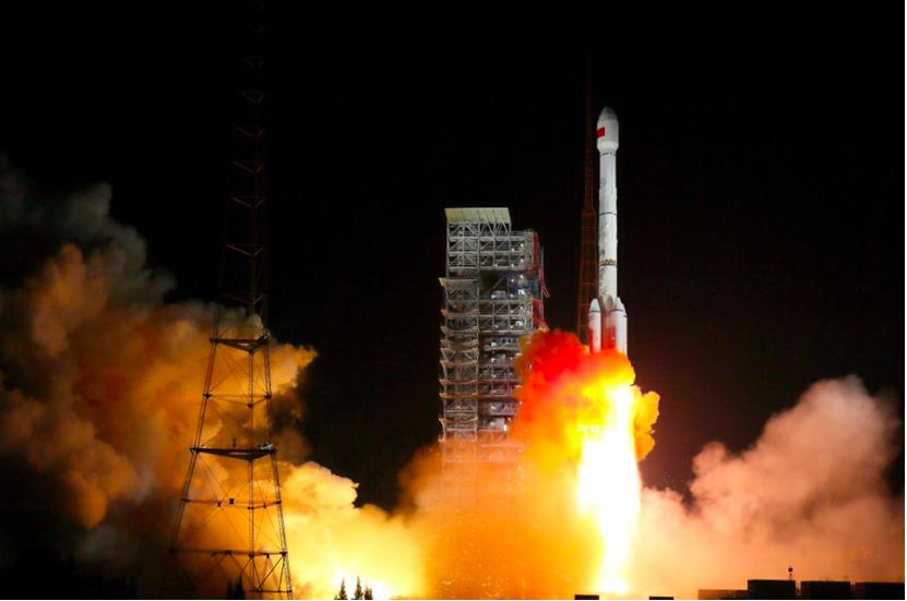 中共提前半年完成北斗三號系統佈署,僅2018年北斗衛星系統一口氣發射18顆衛星,...