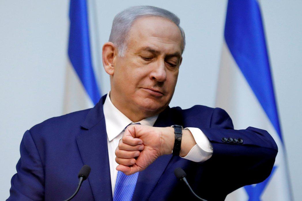 以色列總理內唐亞胡無法在國會取得多數支持,放棄組閣。路透