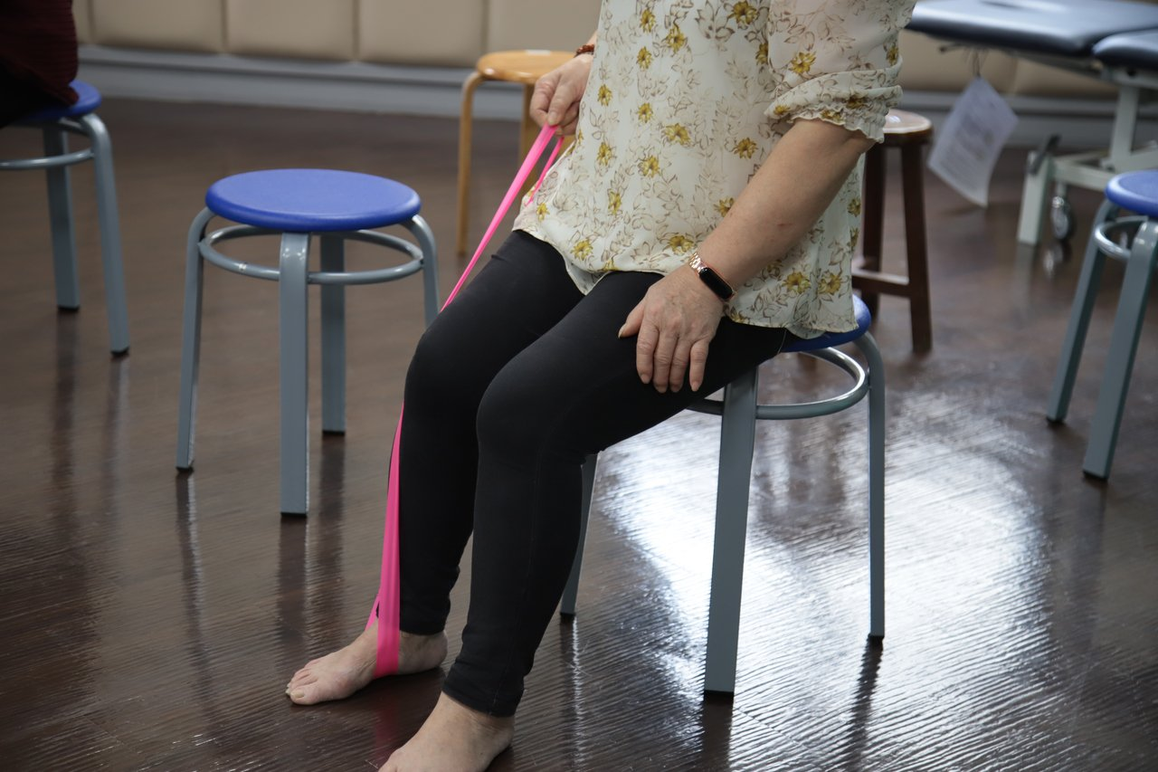 羅東博愛醫院表示,骨質疏鬆更該積極運動,適當的阻力訓練能刺激骨質生成。圖/羅東博...