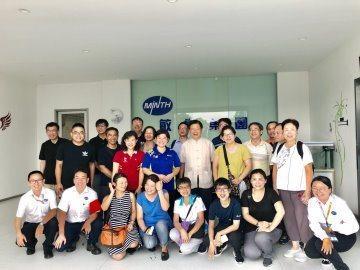 大華科大教職員日前至海外企業參訪。圖/大華科大提供