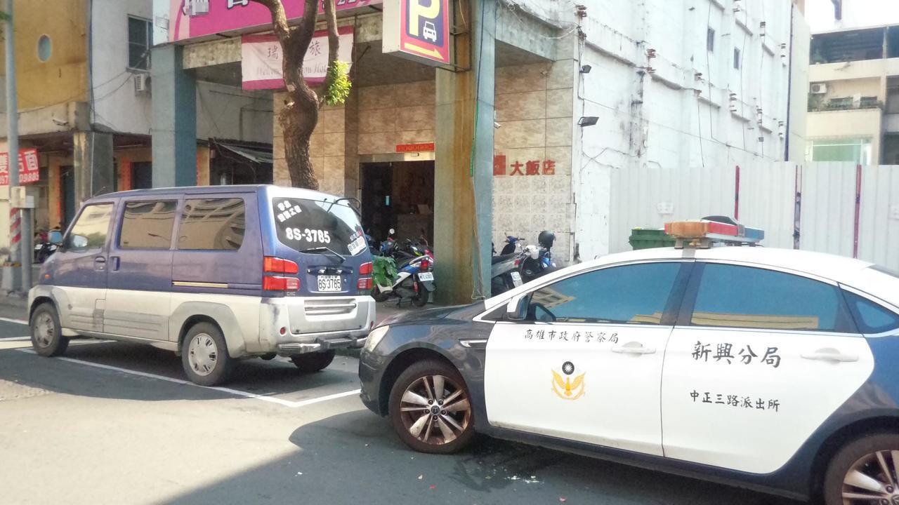 警方據報飯店男房客陳屍房間,正調查死因。記者林保光/攝影