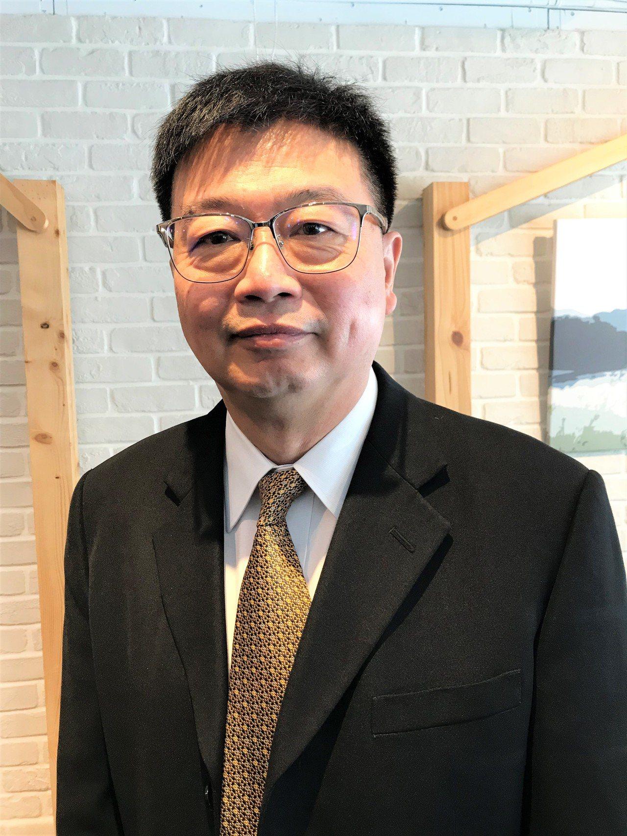 千才生醫執行長高嵩岳。記者李珣瑛/攝影