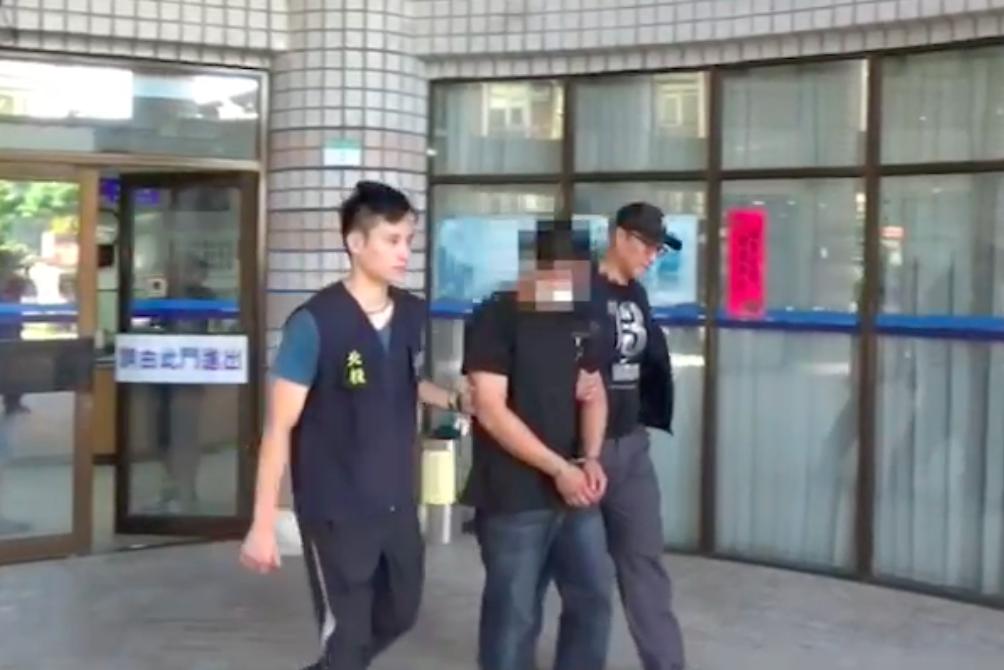 林男涉嫌偷竊、銷贓自然公園石像。記者蕭雅娟/翻攝
