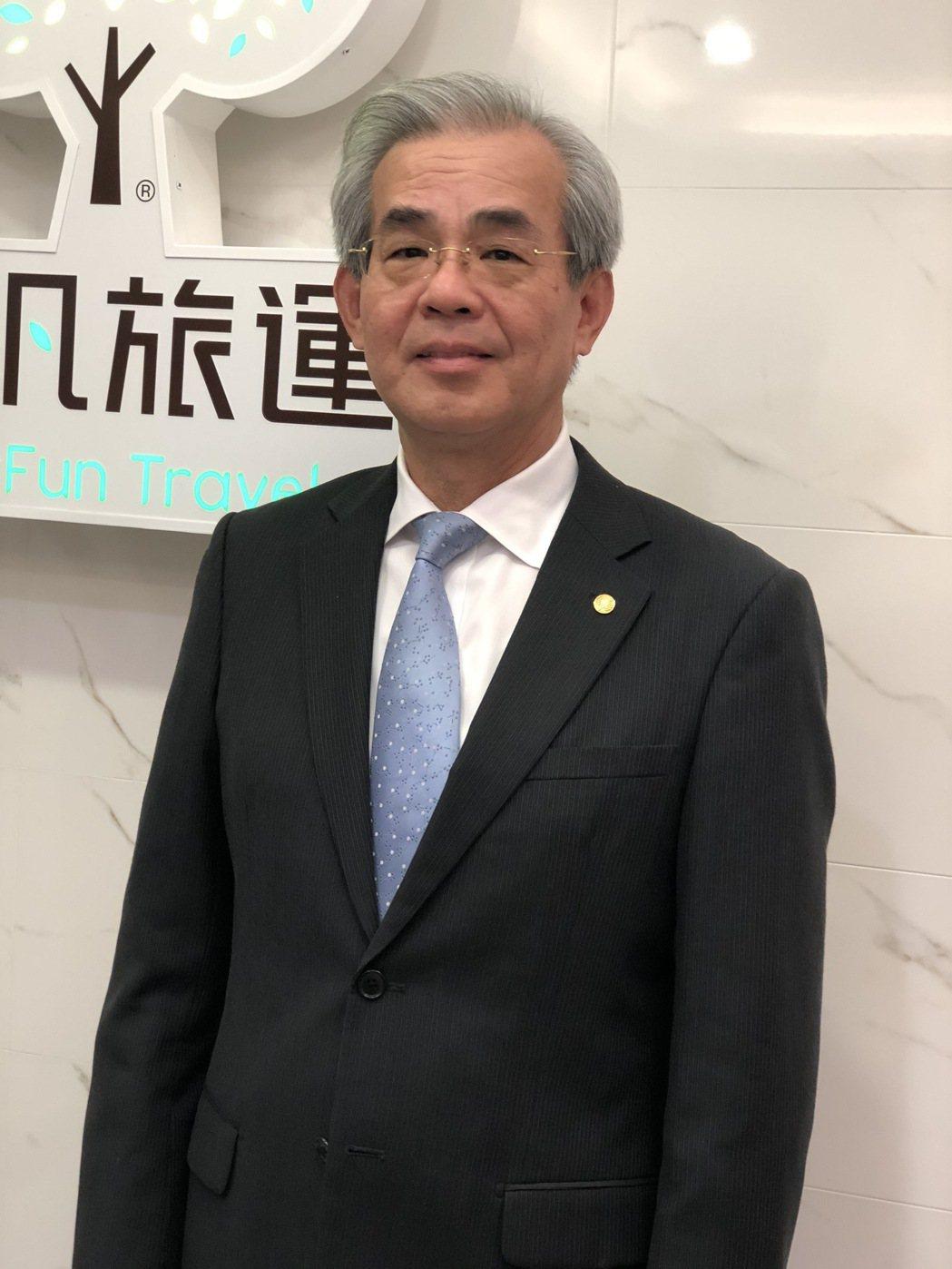 長汎旅行社董事長陳憲弘。記者黃文奇/攝影