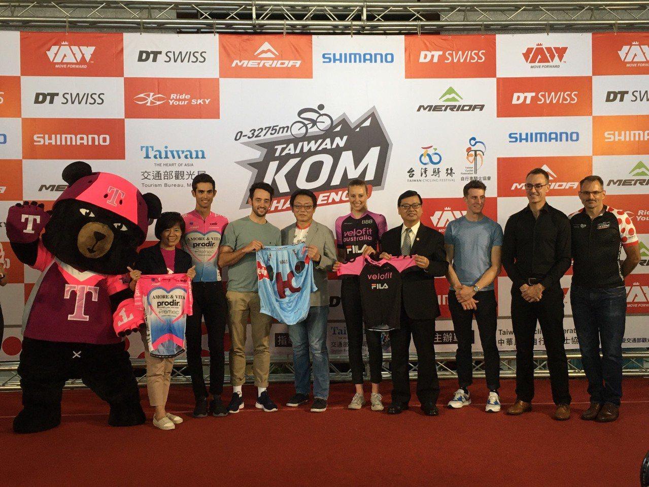 台灣自行車登山王挑戰將於10月25日登場。圖/觀光局提供