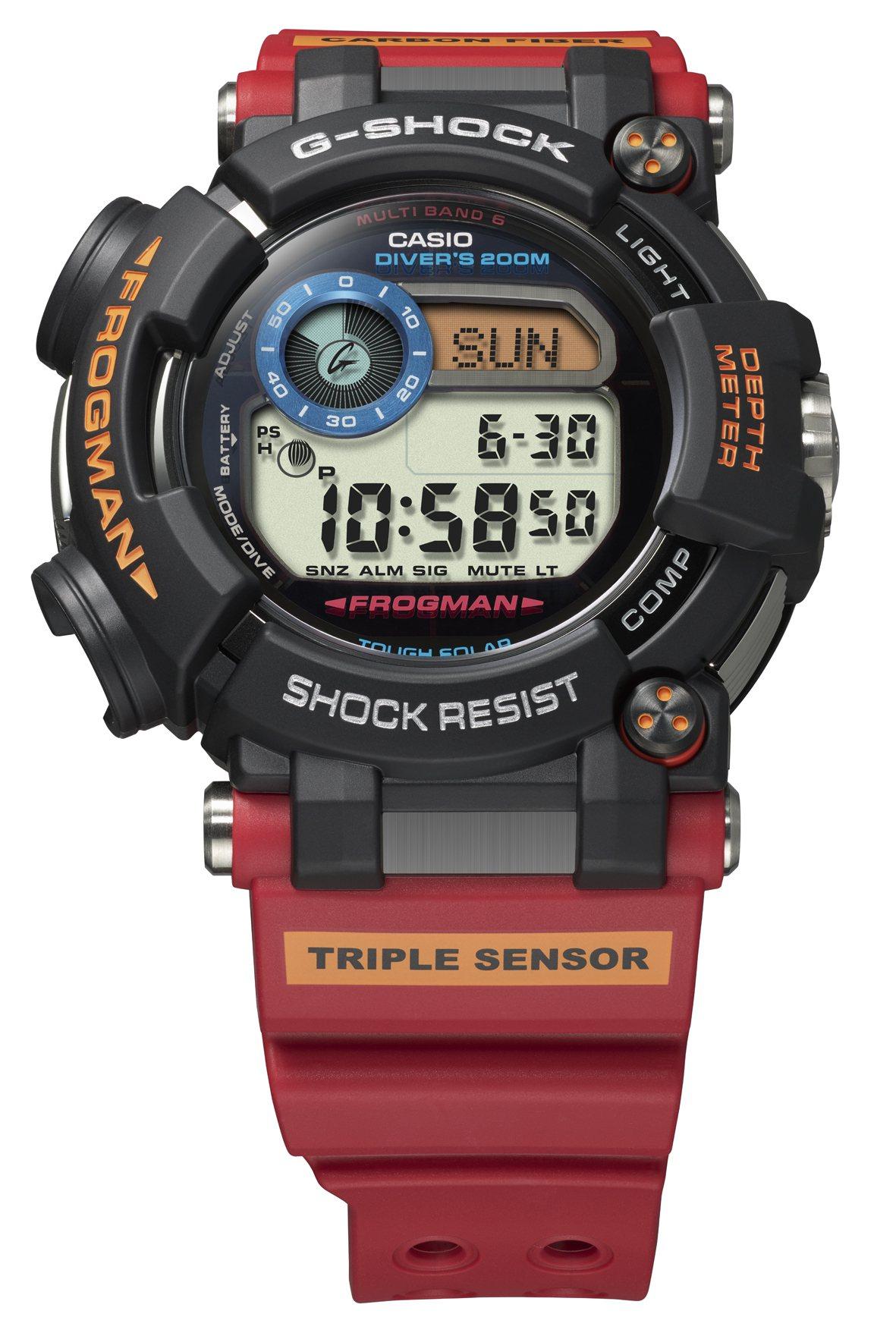 G-Shock FROGMAN系列限量紀念GWF-D1000ARR腕表,36,0...