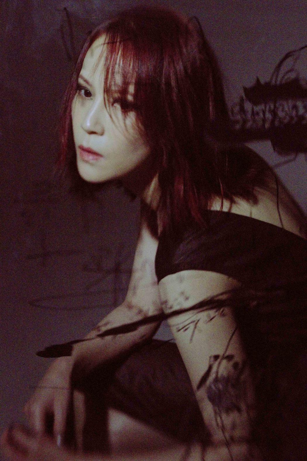 楊乃文推出新專輯「越美麗越看不見」。圖/亞神提供