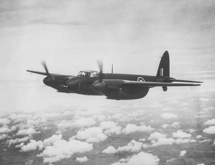 由哈維蘭公司製造的全木製戰機:蚊式轟炸機(de Havilland Mosqui...