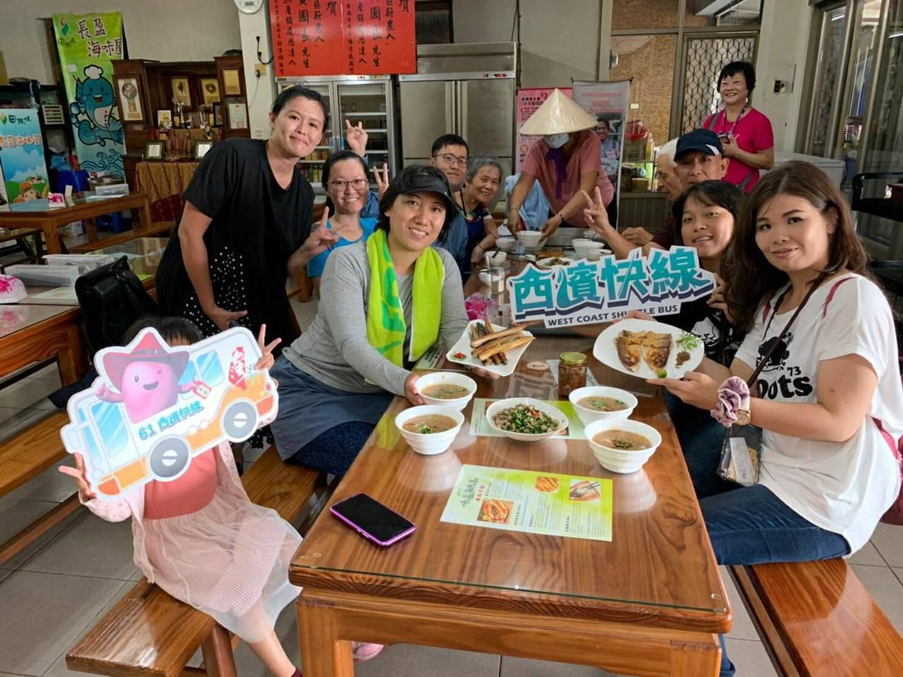 進入旅遊高峰期,「台灣好行」西濱快線即日起至年底加開班次服務遊客。圖/雲嘉南濱海...