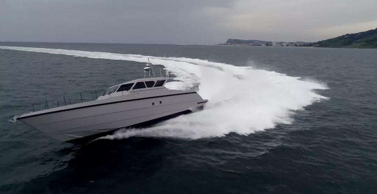 FSD 195高速巡邏艇 。圖/看看新聞網