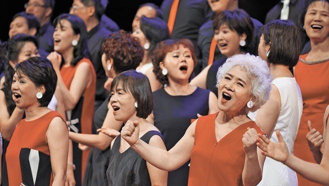 台北愛樂市民合唱圖。圖/台北愛樂提供