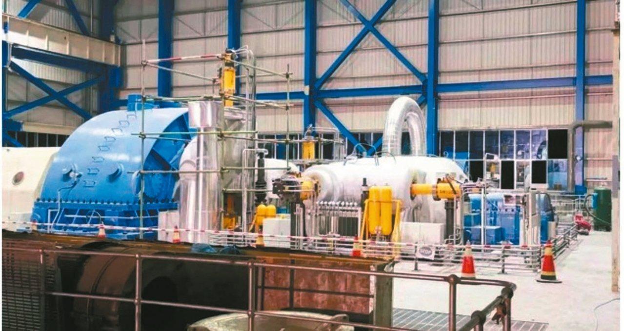 「德陽造」汽輪機組,助力印尼緩解供電緊張,圖為東汽新型125MW級別蒸汽輪機機組...