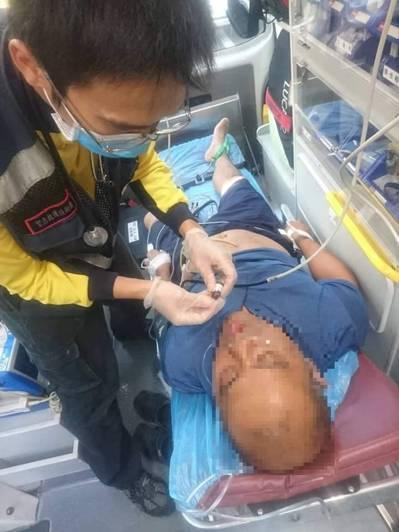 台東1名男子昨天發生ST上升型急性心肌梗塞,消防局與台東馬偕醫院隨即啟動「護心計...