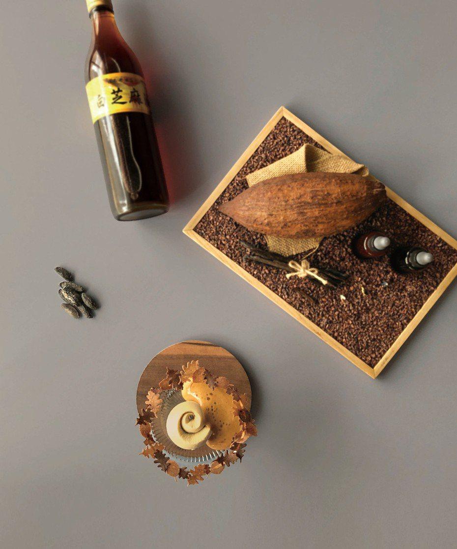 RAW推出秋季菜單將豆油(醬油)、沾醬、發酵醋、初榨籽油融入菜色之中,期望藉此引起醬料新潮流。 圖/RAW提供