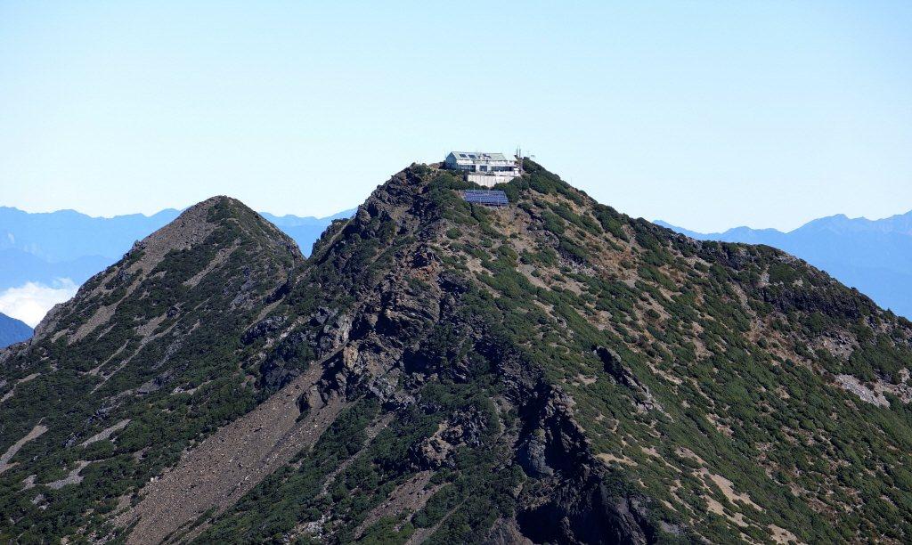 台灣第一高峰玉山。 聯合報系資料照片/記者劉學聖攝影