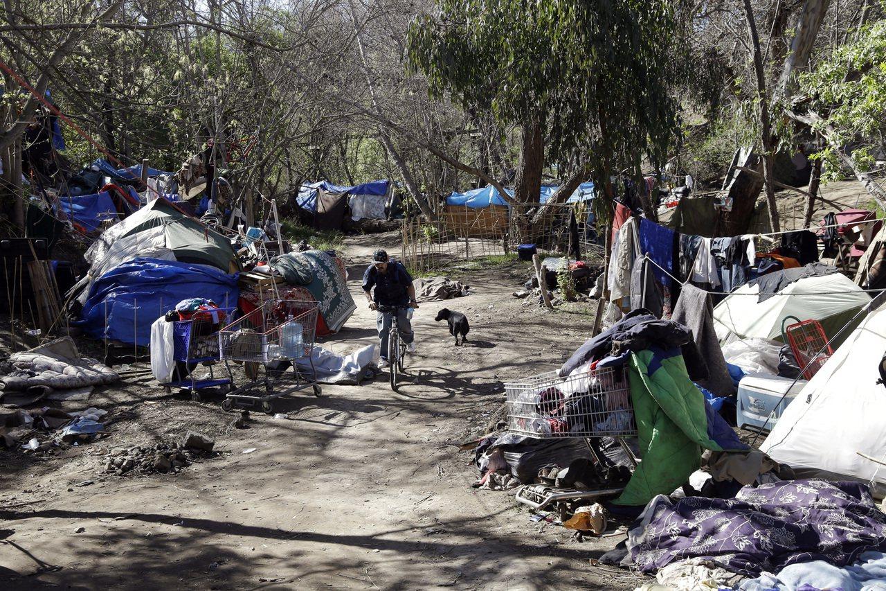 近年來在加州一些地區遊民人數激增。 (美聯社)
