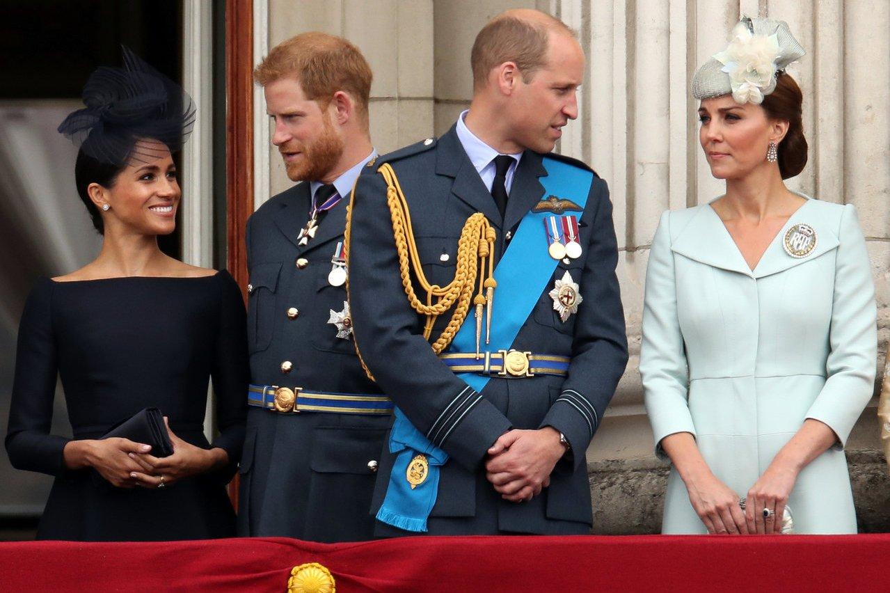 威廉王子護弟心切:願哈利夫婦一切安好
