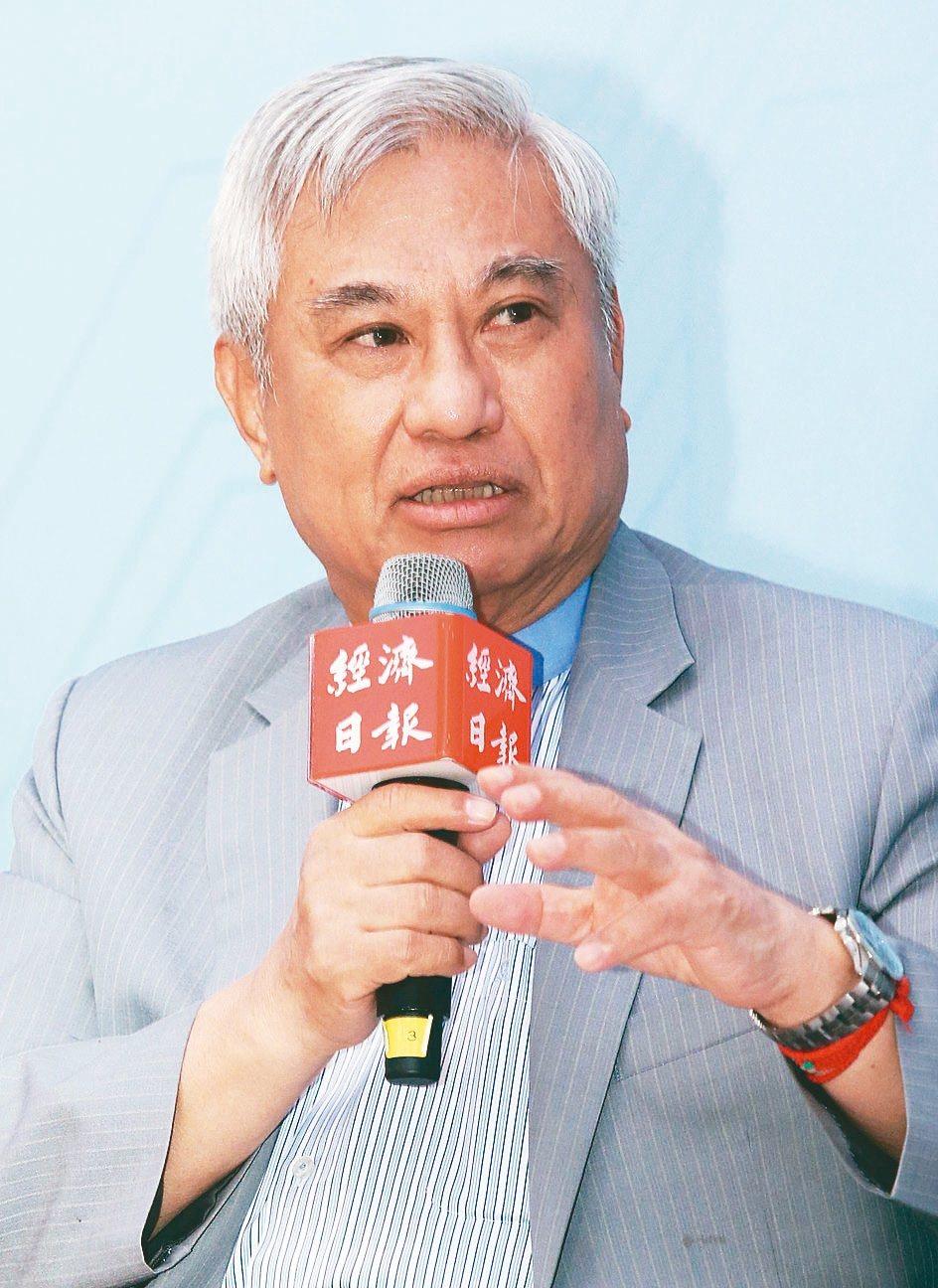 穩懋半導體董事長陳進財。 圖/聯合報系資料照片
