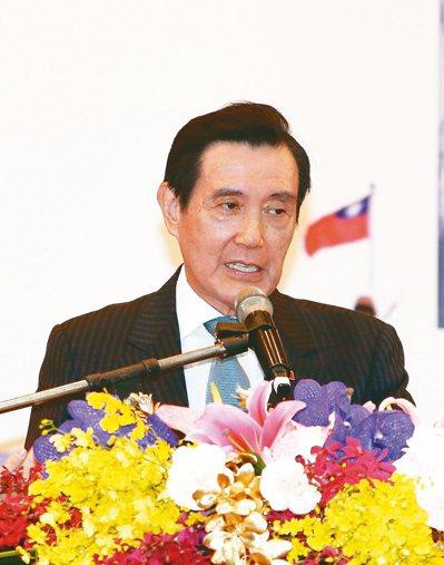 前總統馬英九今天表示,派警察去香港等同干涉司法。 記者曾原信/攝影