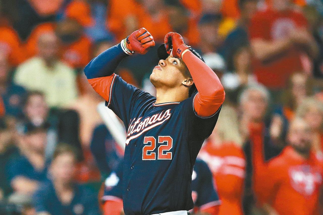 MLB/有了索托誰還想哈波? 國民季後賽7連勝