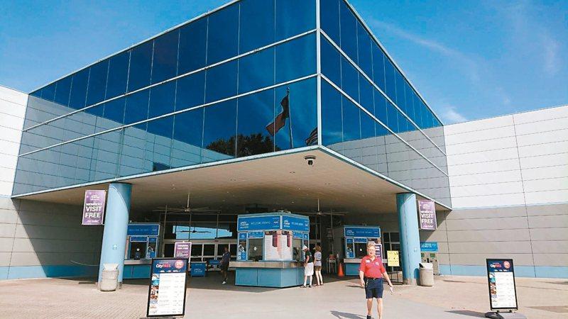 休士頓是美國航太產業重鎮,圖為休士頓太空中心。 記者黃淑惠/攝影