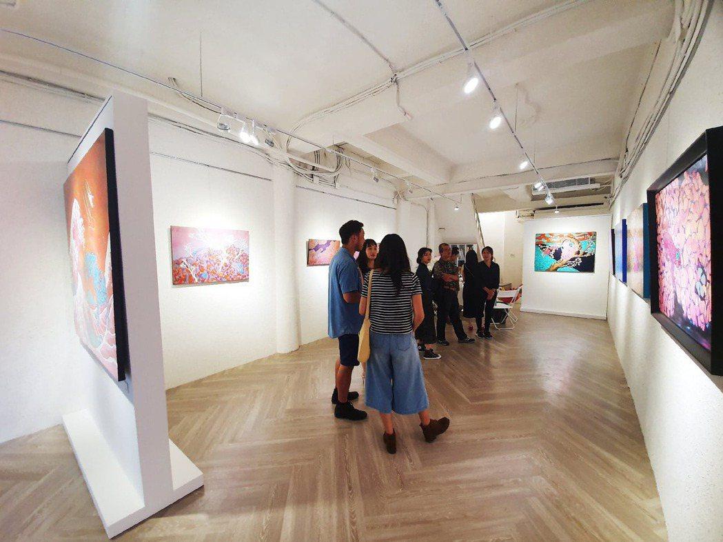 寶于藝術中心一樓的藝廊展示空間。業者/提供
