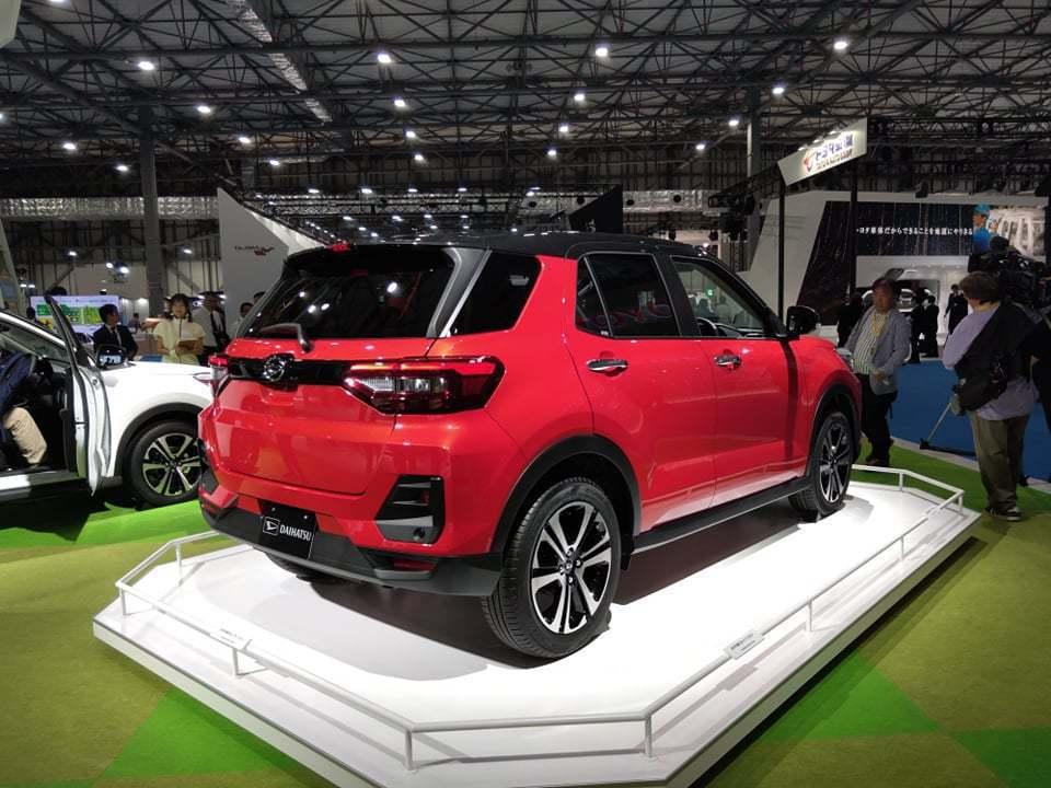 Daihatsu新款小型SUV。 記者張振群/攝影