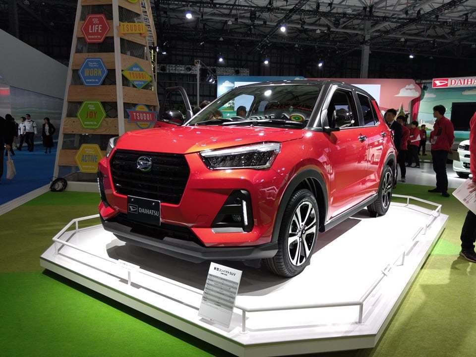 Daihatsu新款小型SUV總重量居然不到1噸。 記者張振群/攝影