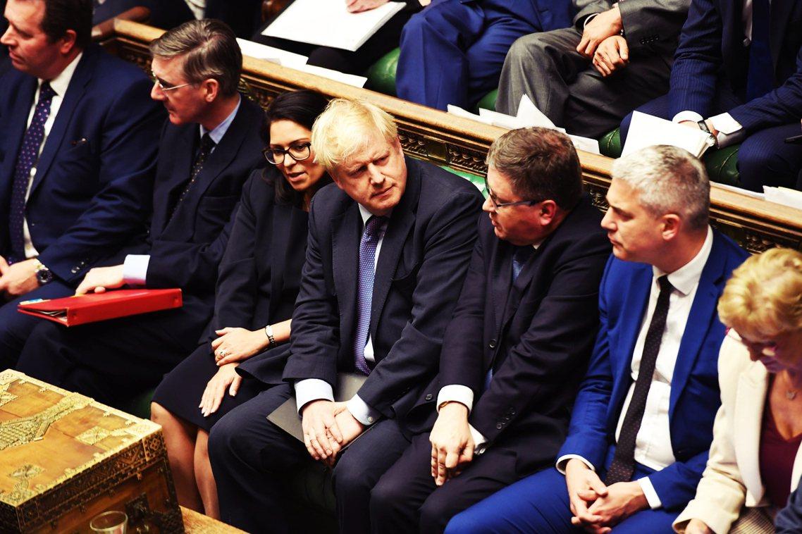 英國的脫歐現況,是現任首相強生(Boris Johnson)已於10月17日(脫...