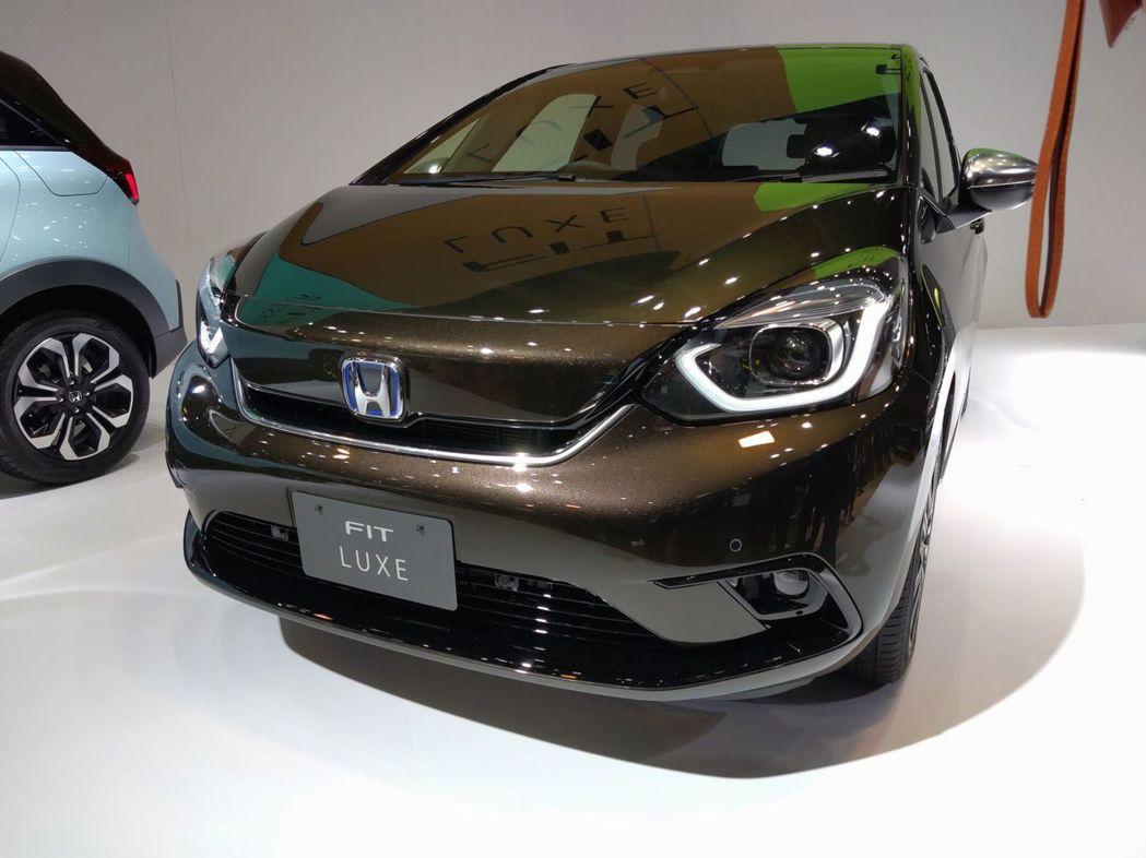 第四代Honda FIT,圖為Luxe車型。 記者張振群/攝影