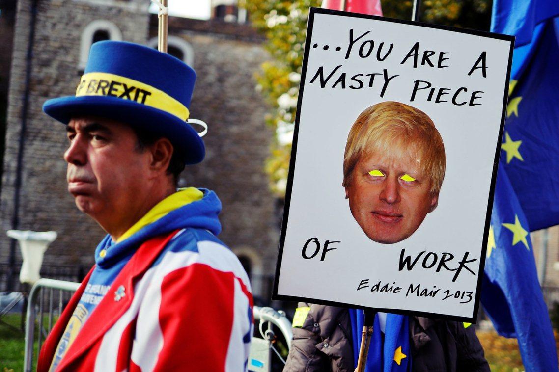 「強生又在騙,他根本沒辦法承諾、也不知道這份脫歐協議會給英國帶來多大的衝擊!」 ...