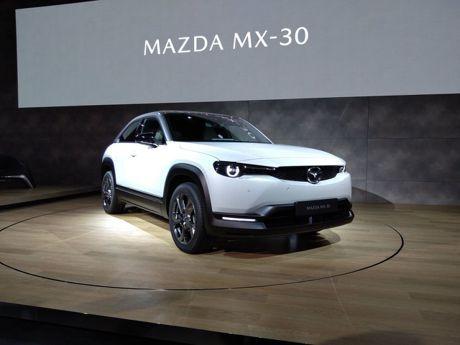 2019東京車展/Mazda首款「量產」純電車MX-30正式亮相!