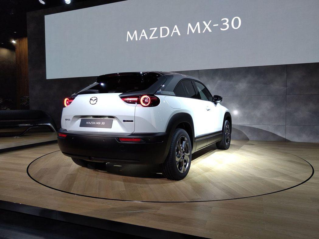 全新Mazda MX-30目前已開放歐洲消費者進行預購。 記者張振群/攝影