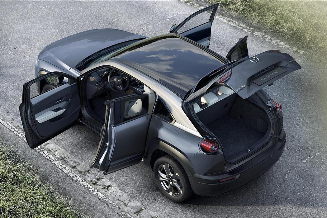 全新Mazda MX-30。 摘自Mazda