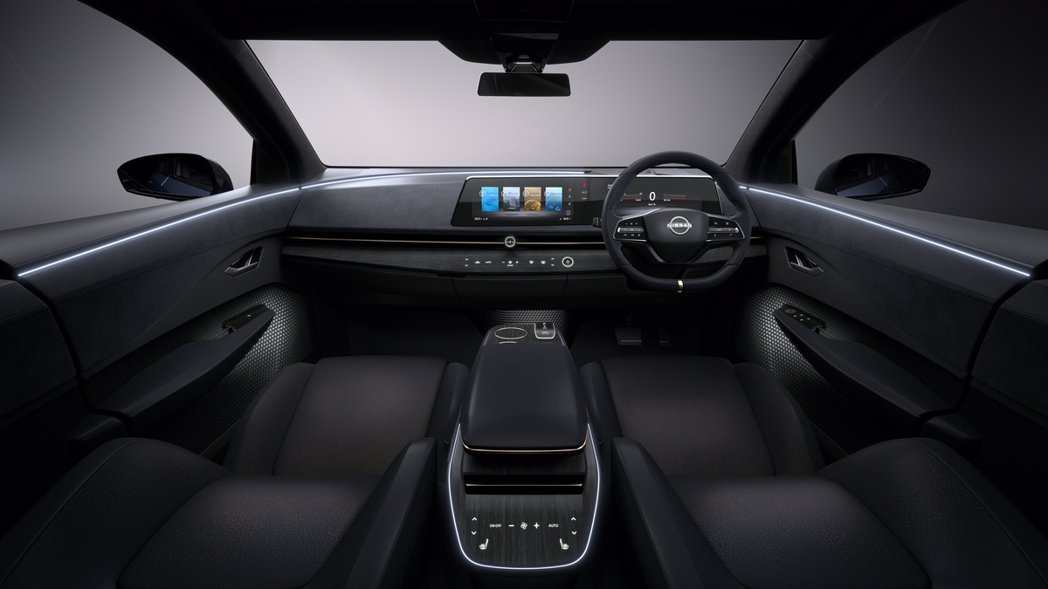 Nissan Ariya Concept內裝。 圖/Nissan提供