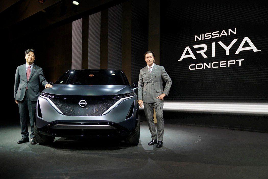 Nissan Ariya Concept於東京車展發表。 圖/Nissan提供