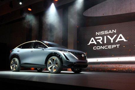 對拚特斯拉Model Y?Nissan預告全新純電跨界休旅Ariya Concept量產版本將於7/15發表!