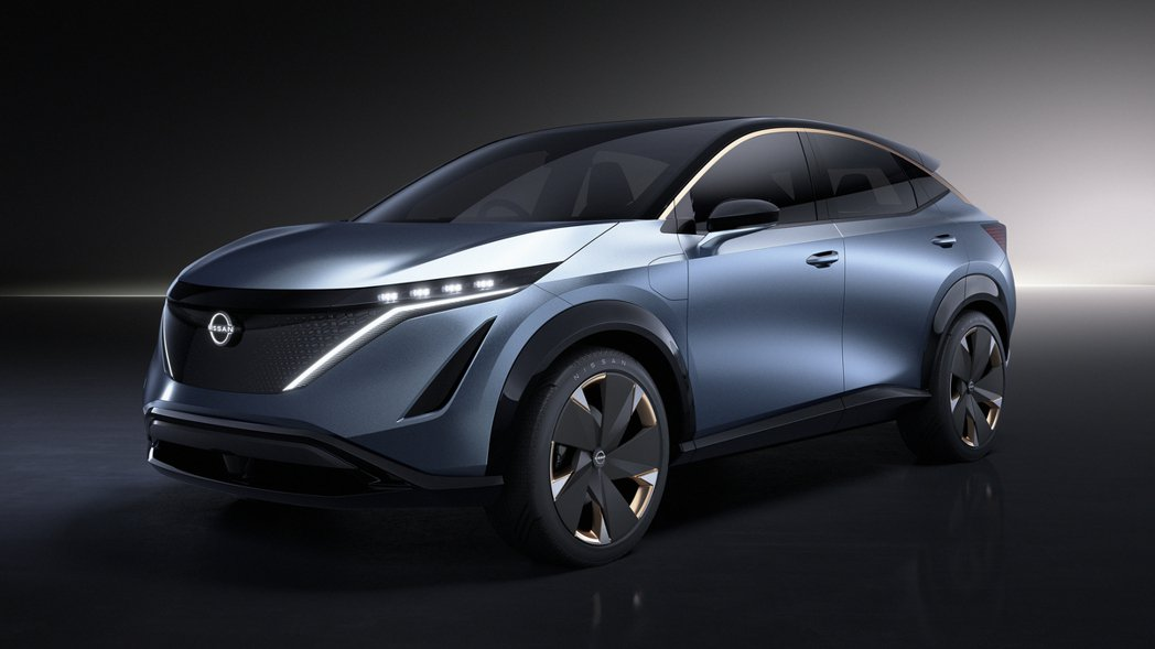 Nissan Ariya Concept。 圖/Nissan提供