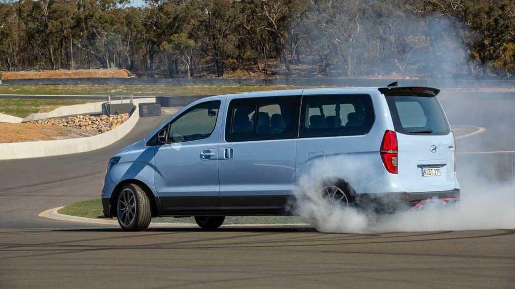 Hyundai iMax N甩尾甩起來! 摘自Hyundai