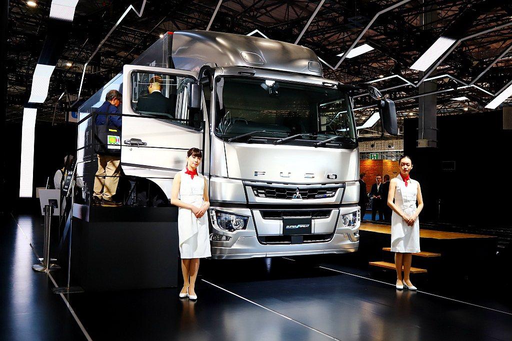 2019年式Fuso Super Great成為日系品牌第一款導入Level 2...