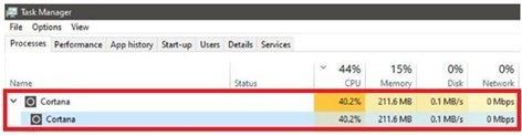 更新程式使微軟的數位助理程式Cortana 意外佔據CPU 30-40% 的計算資源