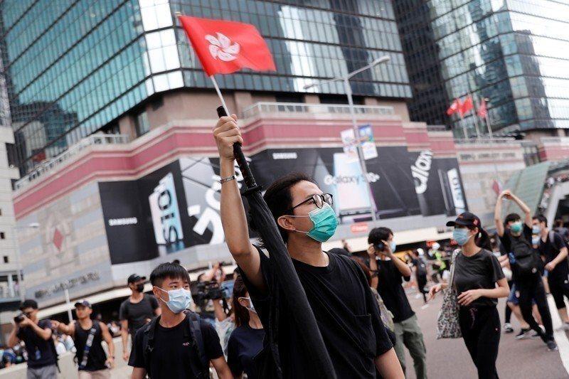 示意圖,攝於6月12日,香港。 圖/路透社
