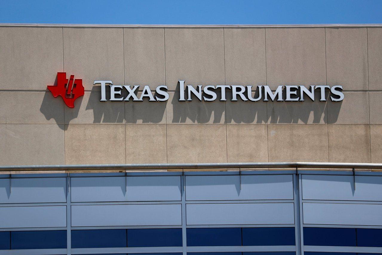 德州儀器Q4展望不如預期,引發晶片股賣壓。 路透