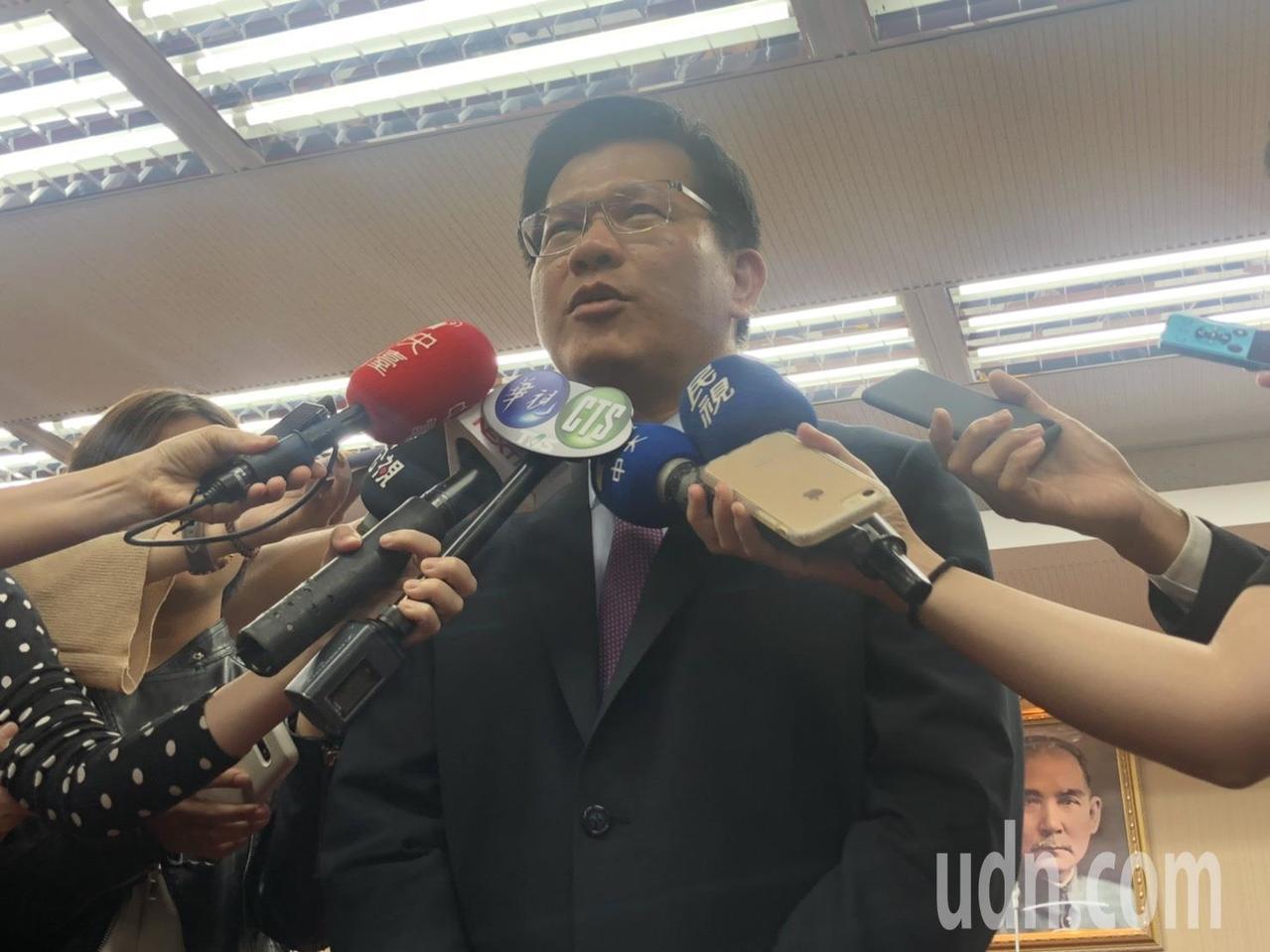 交通部長林佳龍。記者曹悅華/攝影