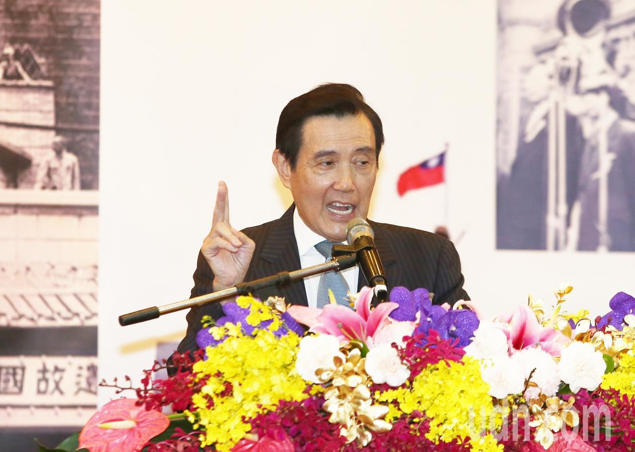 前總統馬英九今天上午出席古寧頭大捷70周年及光復台灣74周年紀念活動,表示古寧頭...